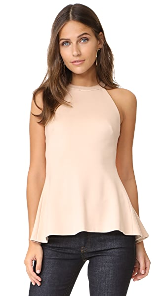 L'AGENCE Batista Sleeveless Top In Frappe