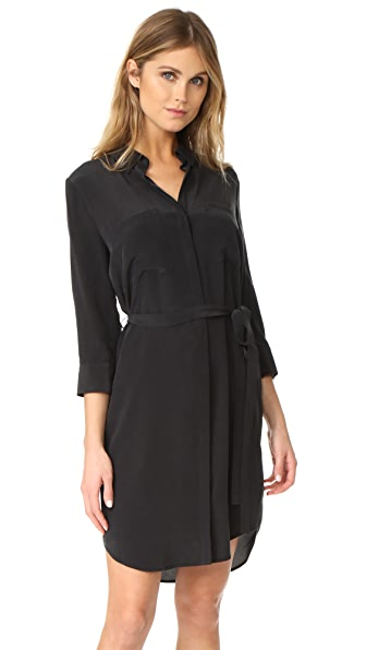 L'AGENCE Stella Short Shirtdress