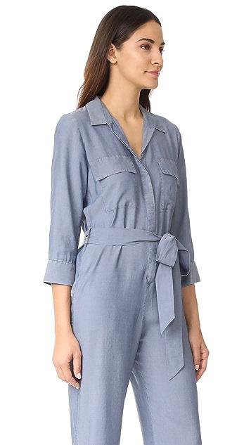 L'AGENCE Delia 3/4 Sleeve Jumpsuit