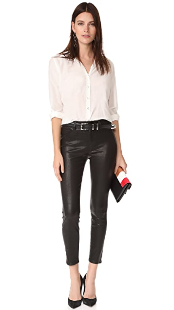 L'AGENCE Adelaide High Rise Ankle Skinny Pants