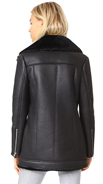 L'AGENCE The Brando Moto Jacket