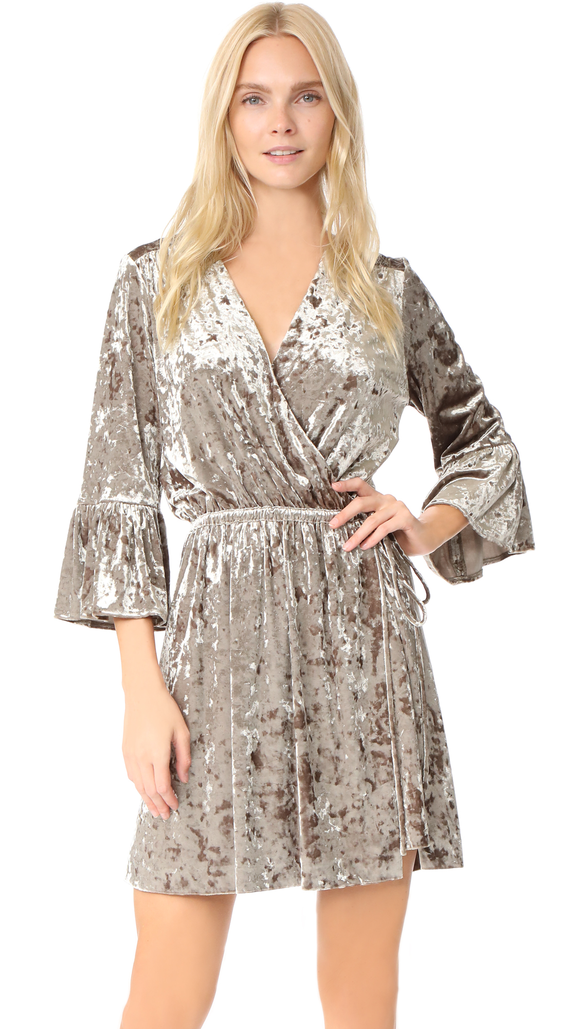 L'AGENCE Riley Wrap Dress
