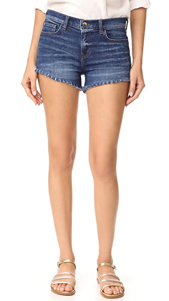 L'AGENCE Zoe Perfect Fit Shorts In Diamond