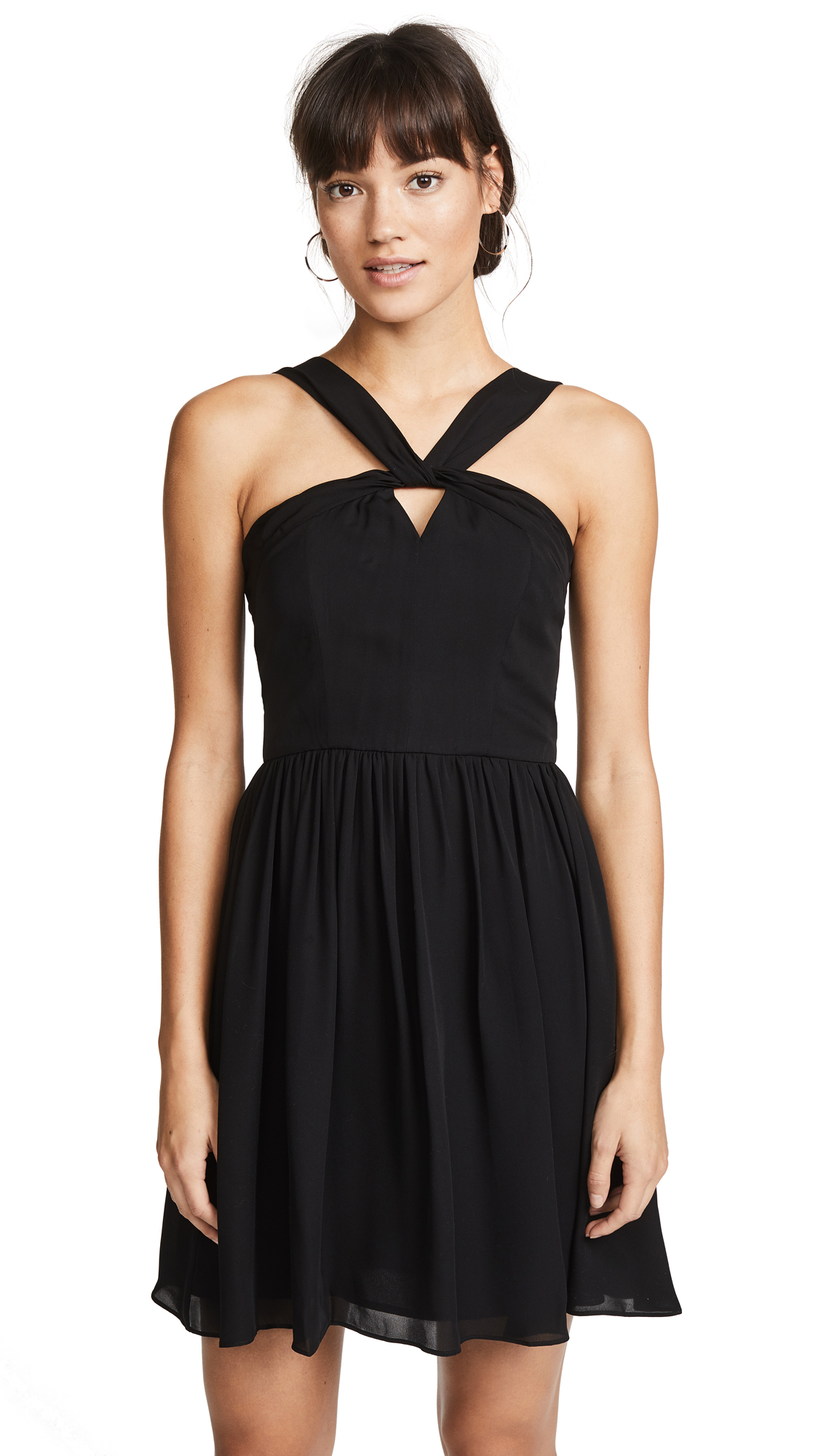 L'AGENCE Valetta Keyhole Dress