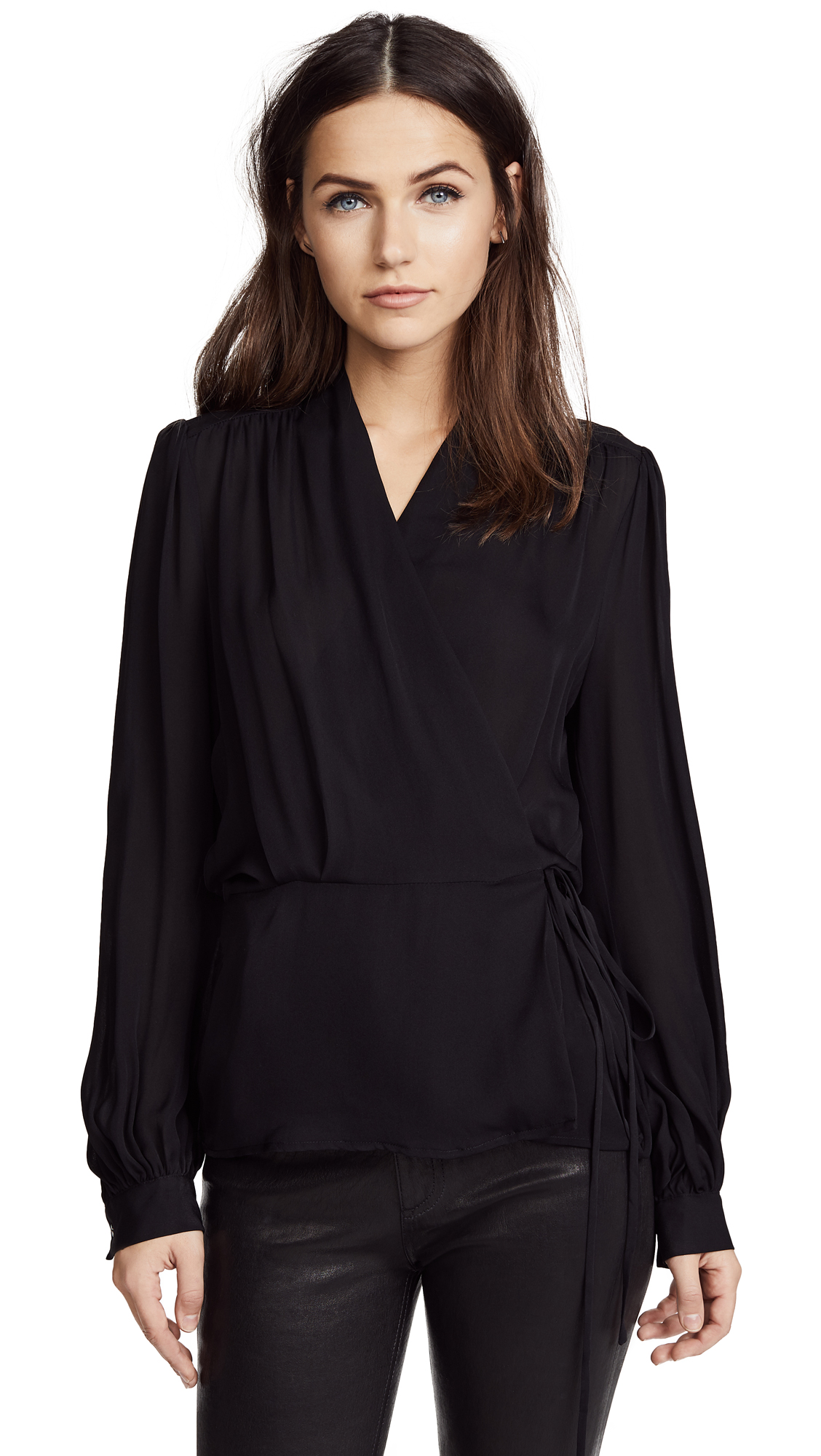 Buy L'AGENCE online - photo of L'AGENCE Cara Blouse