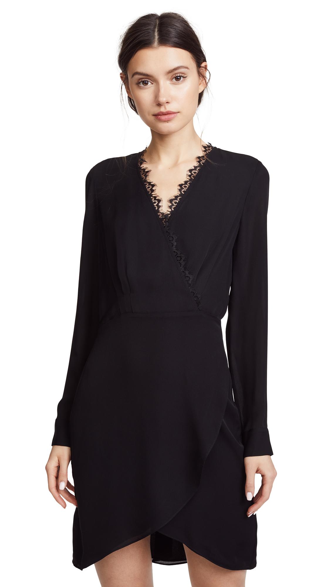 Photo of L'AGENCE Trino Wrap Dress online sales