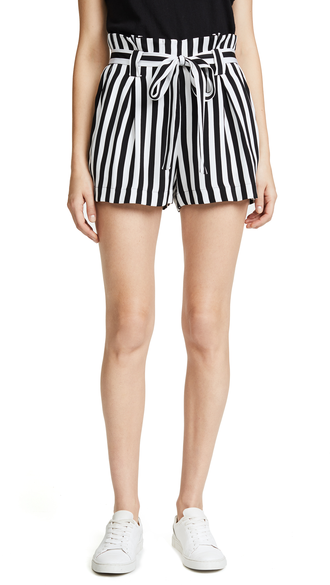 L'AGENCE Alex Paper Bag Shorts