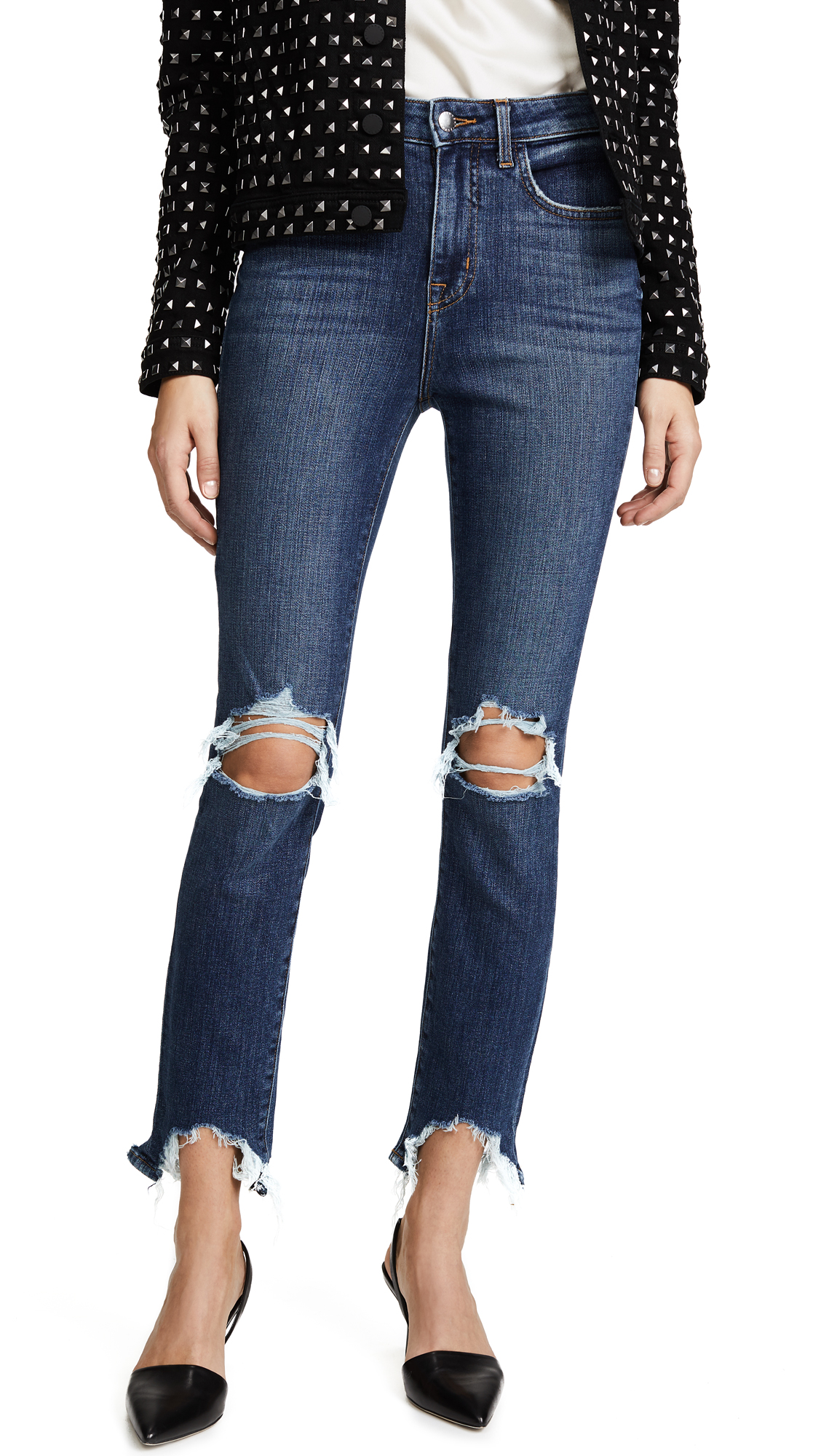 L'AGENCE Highline High Rise Skinny Jeans In Classic Vintage