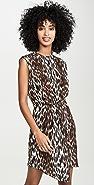 L'AGENCE Cipriana Asymmetrical Dress