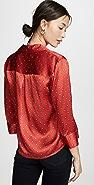 L'AGENCE Jil 短款女式衬衫