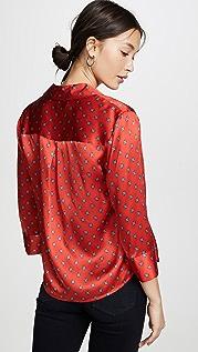 L'AGENCE Укороченная блуза Jil