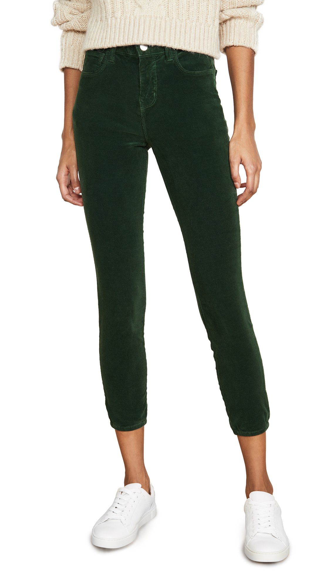 Buy L'AGENCE online - photo of L'AGENCE Margot Cord High Rise Skinny Jeans