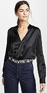 L'AGENCE Marcella 全包式设计紧身连衣裤