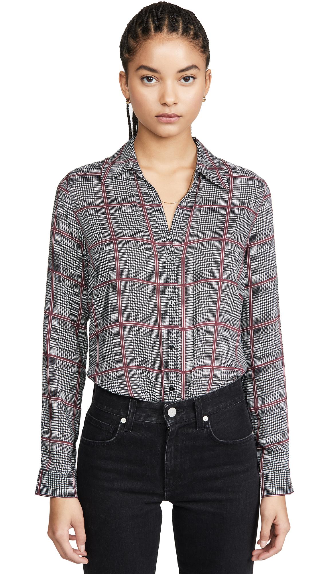 Buy L'AGENCE online - photo of L'AGENCE Nina Long Sleeve Blouse