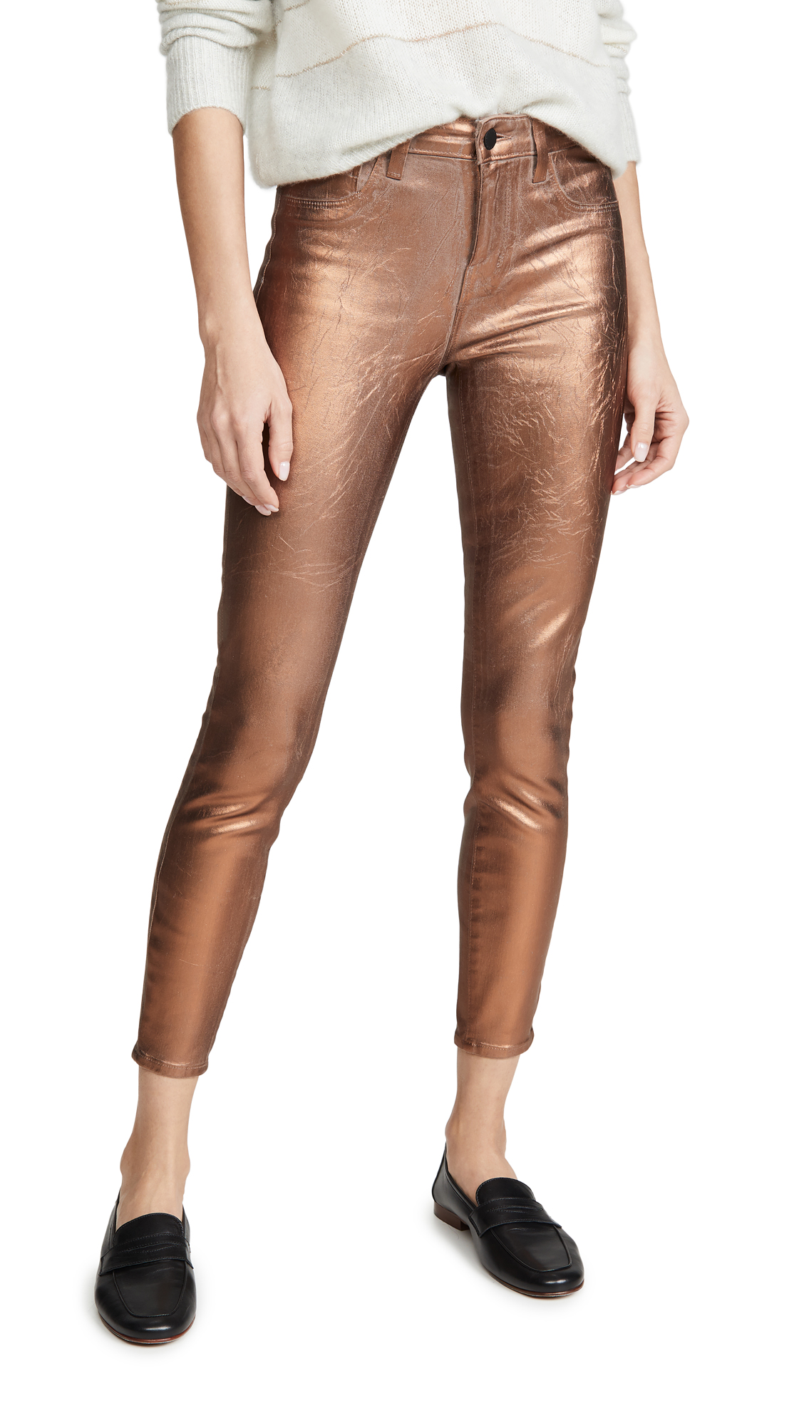 Buy L'AGENCE online - photo of L'AGENCE Margot High Rise Skinny Jeans