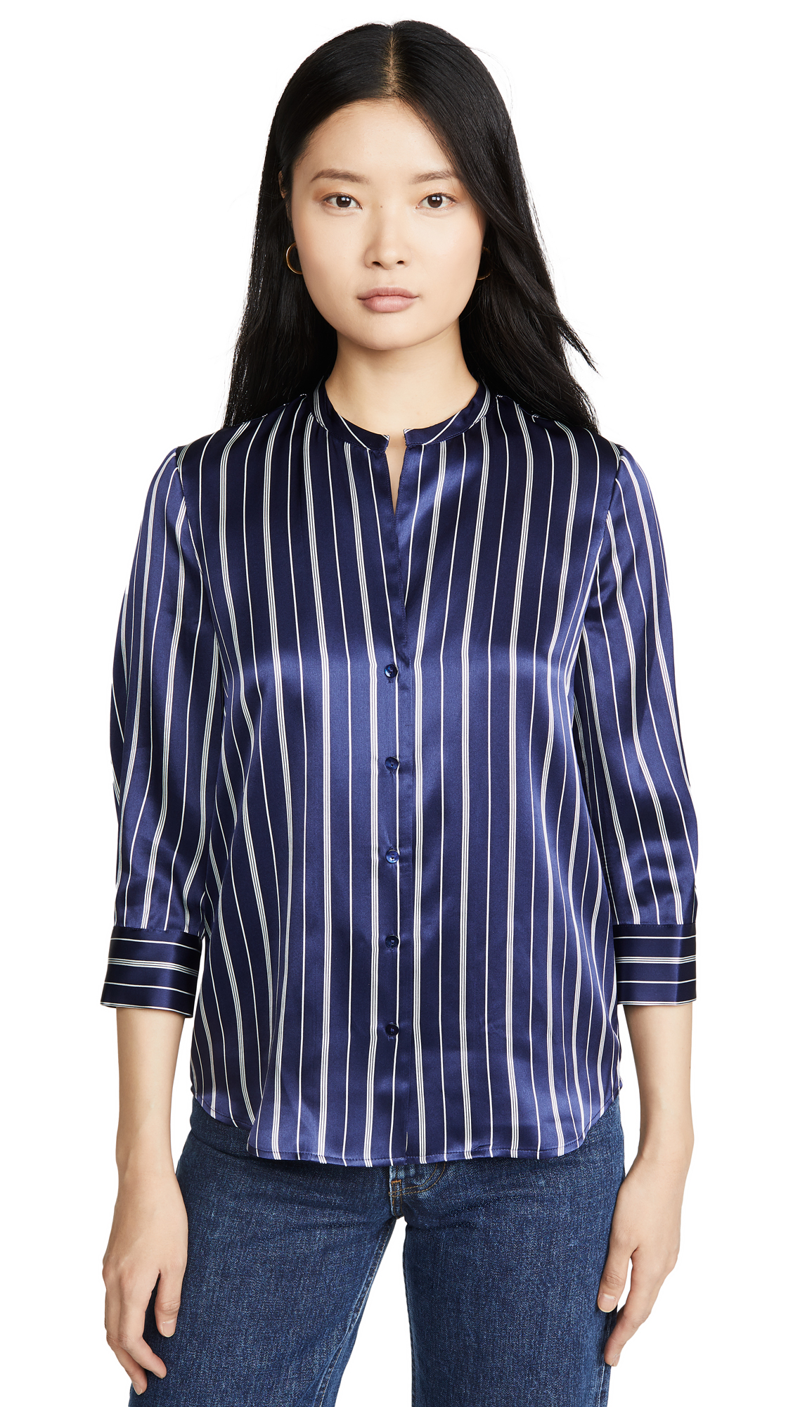 Buy L'AGENCE online - photo of L'AGENCE Aoki 3/4 Sleeve Blouse