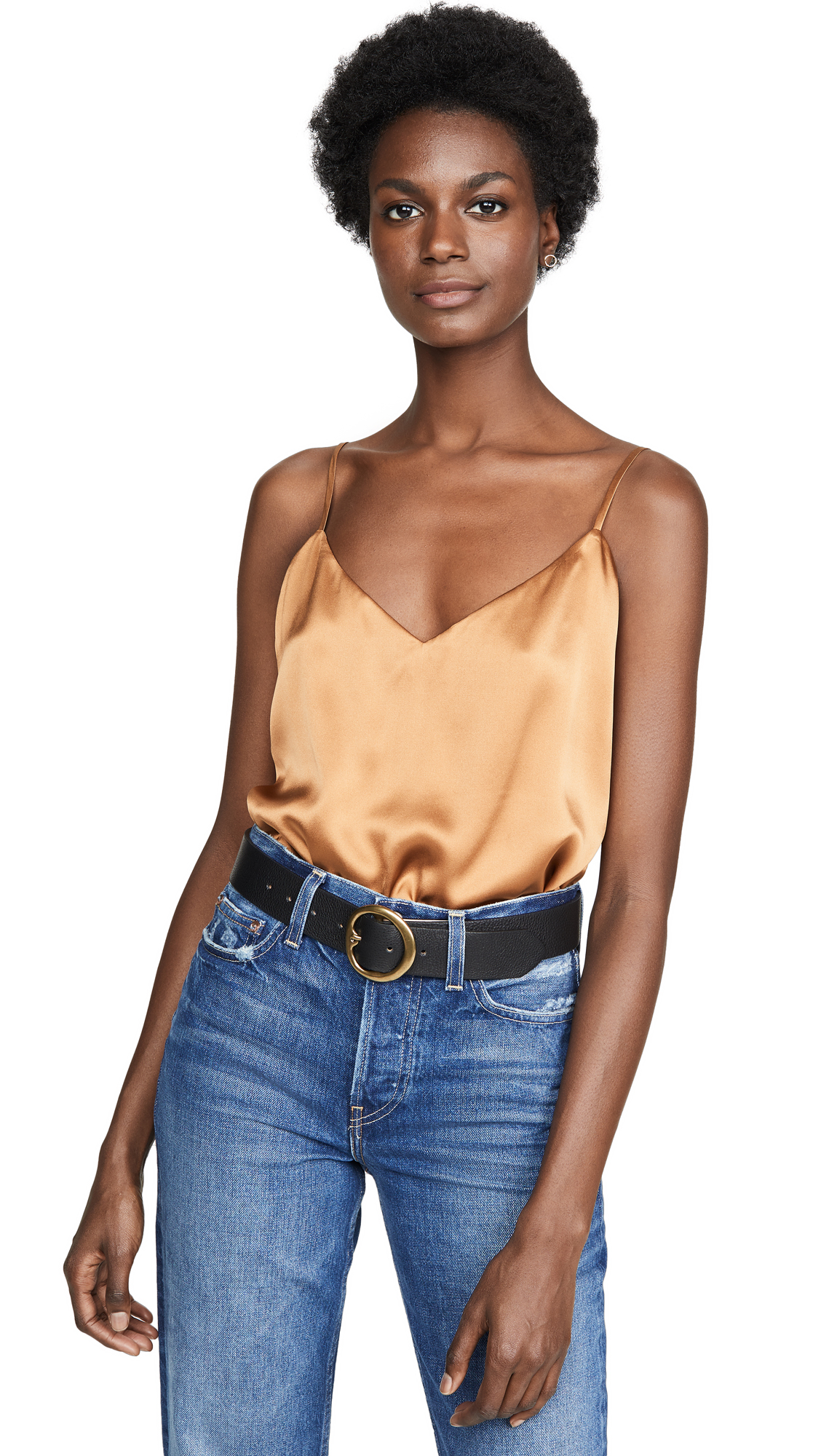 Buy L'AGENCE online - photo of L'AGENCE Jane Spaghetti Strap Top