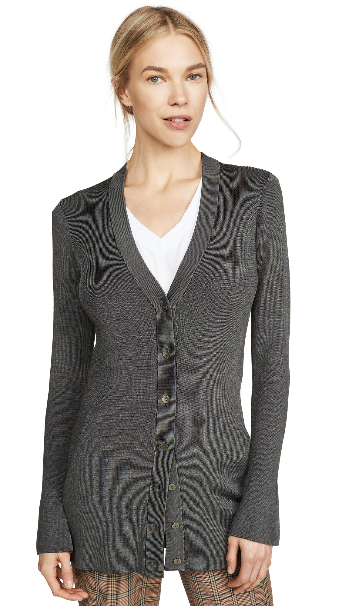 Buy L'AGENCE online - photo of L'AGENCE Lucas Long Cardigan