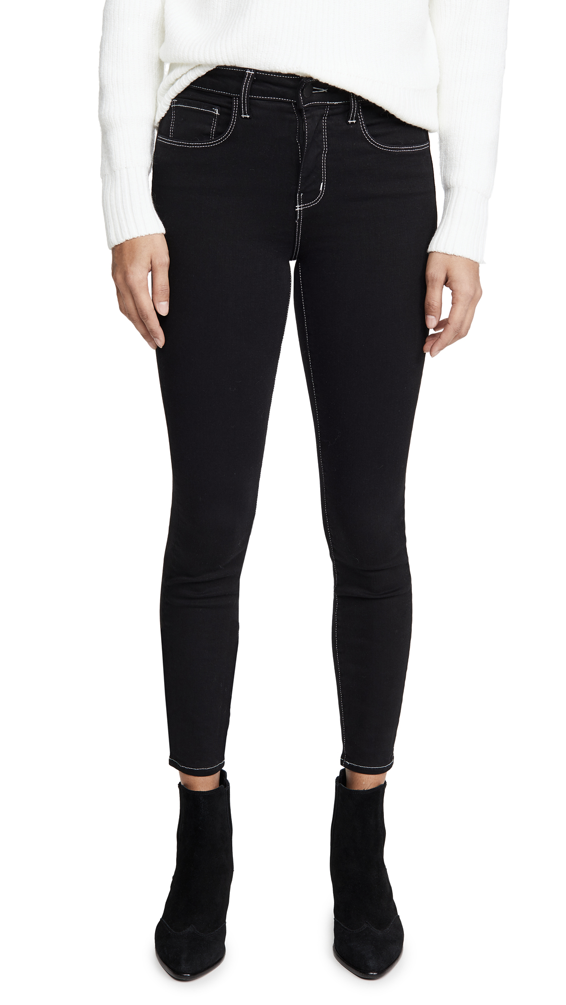 Buy L'AGENCE online - photo of L'AGENCE Margot High Waist Skinny Jeans