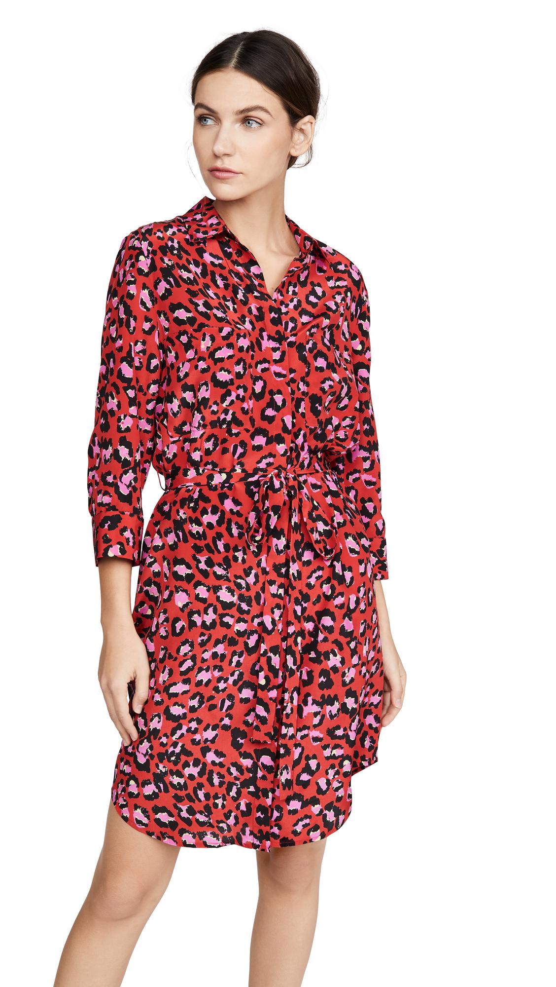 Buy L'AGENCE Stella Short Shirtdress online beautiful L'AGENCE Clothing, Dresses