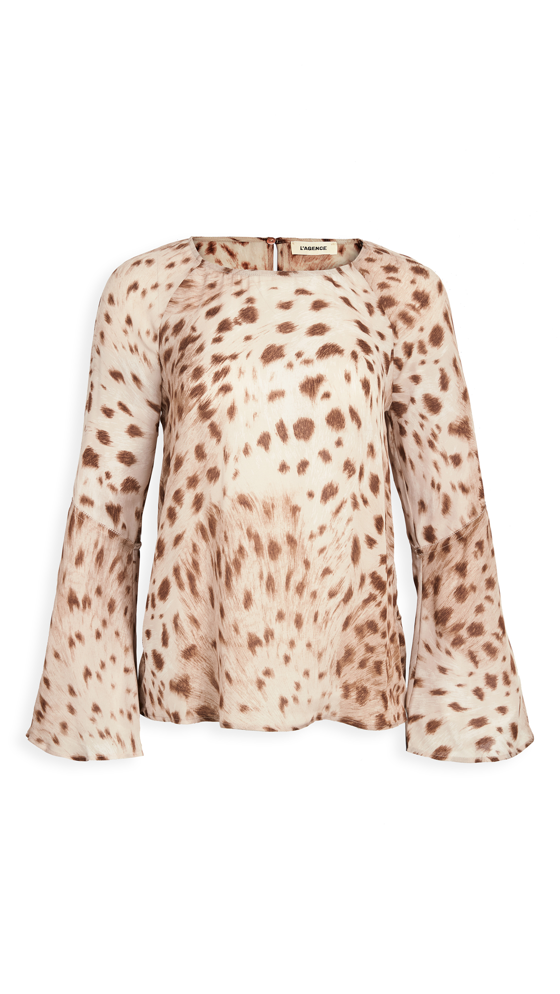 L'AGENCE Dylan Bell Sleeve Blouse