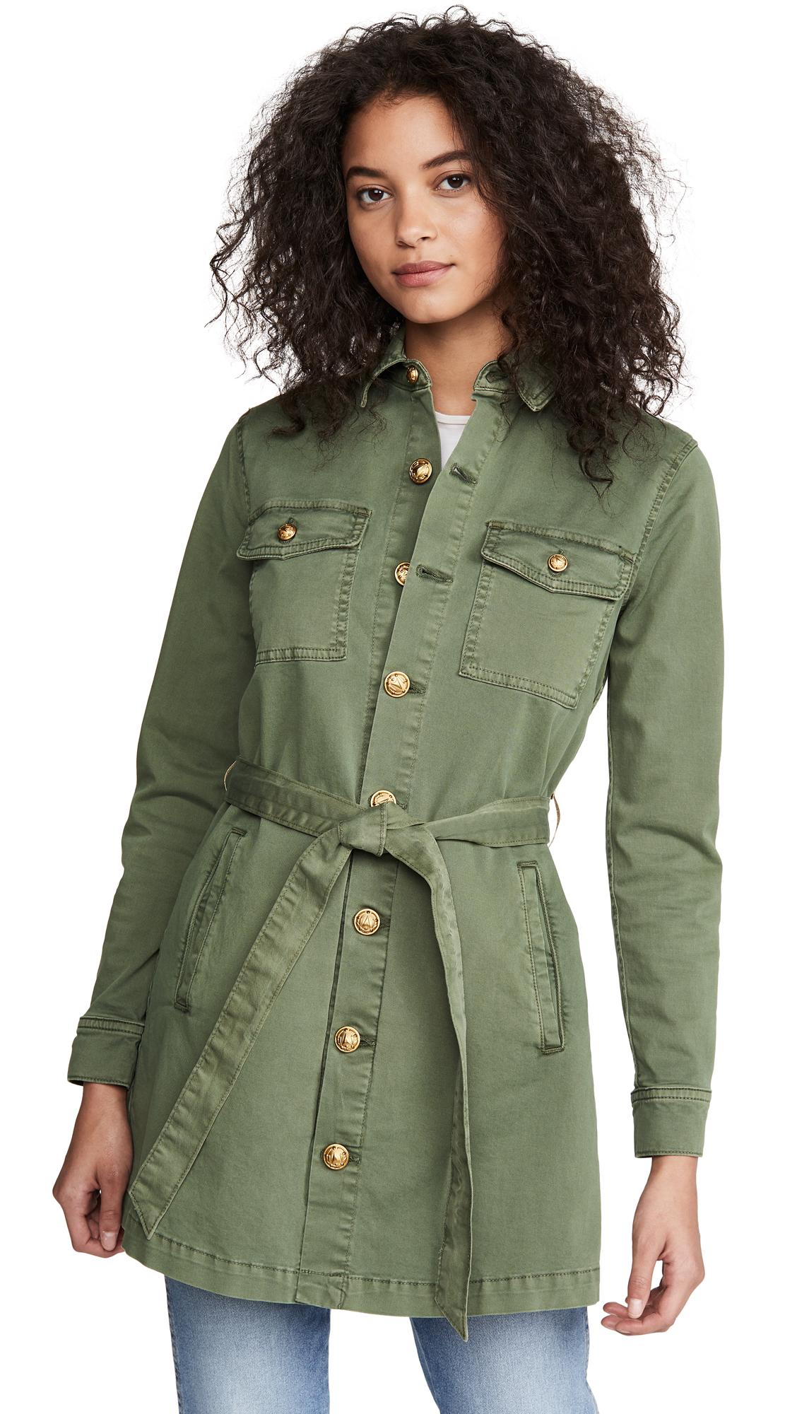 Buy L'AGENCE Samantha Safari Jacket online beautiful L'AGENCE Jackets, Coats, Coats