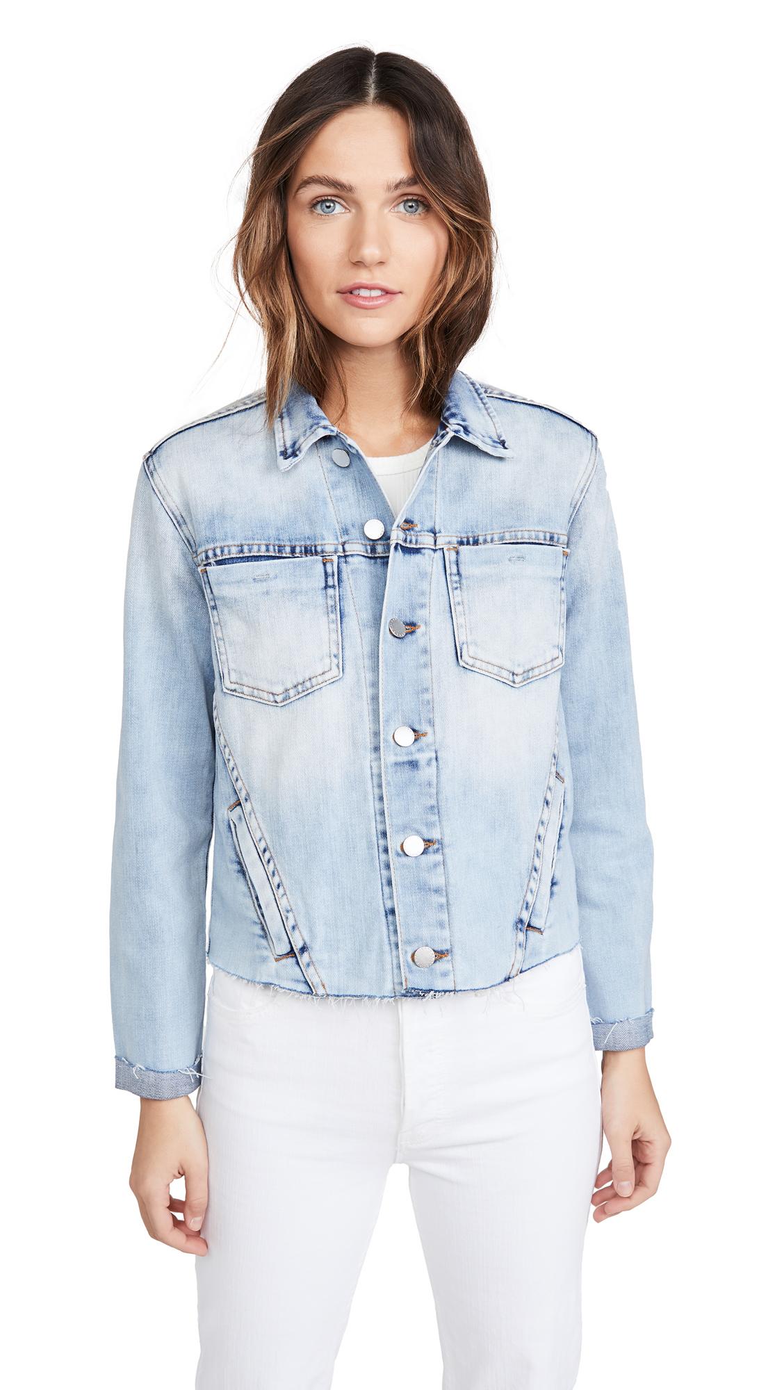 Buy L'AGENCE Janelle Slim Raw Jacket online beautiful L'AGENCE Clothing, Jackets