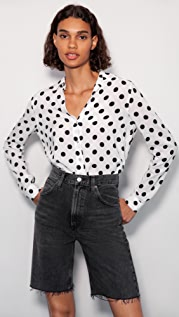 L'AGENCE Holly 长袖女式衬衫