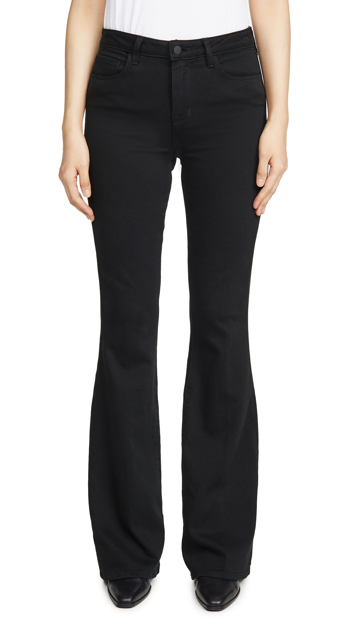 L'AGENCE Bell High Rise Flare Jeans