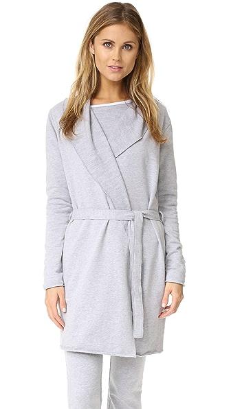 Love+Grace Fuzzy Fleece Robe