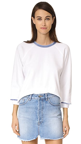 Liana Clothing The Flea Sweatshirt - White