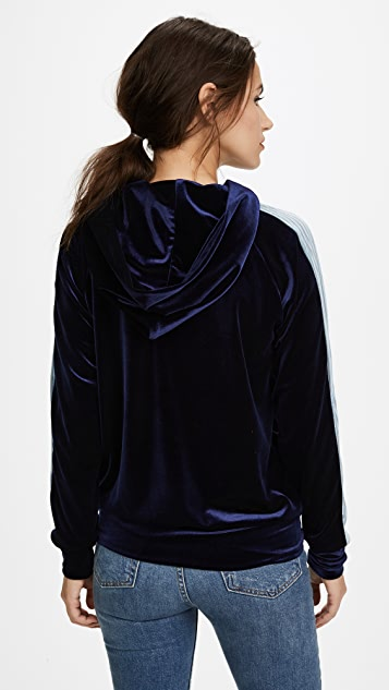 Liana Clothing Hooded Plush Pullover