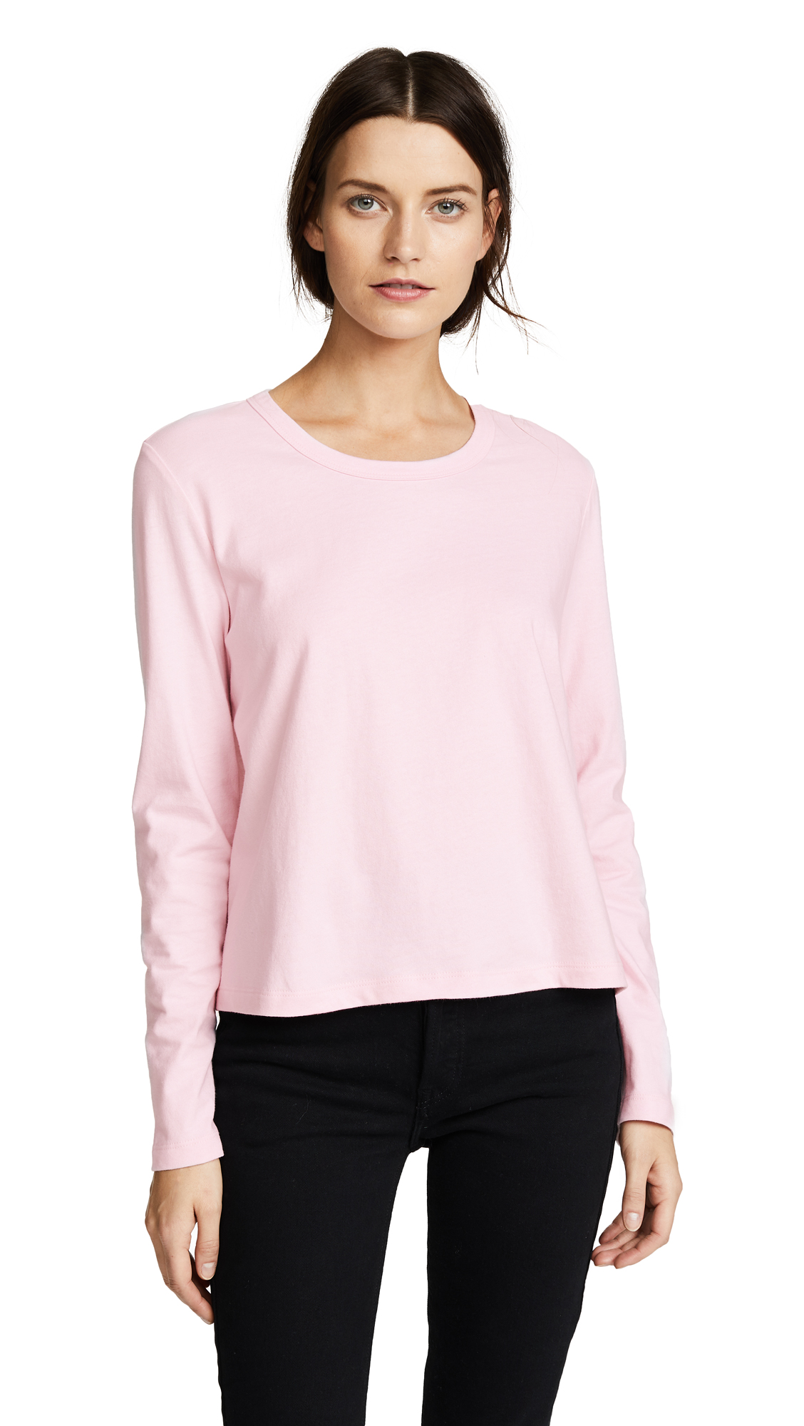 LIANA CLOTHING The Millie Tee in Baby Pink