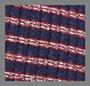 Navy/Maroon/Silver Stripe