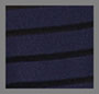 Navy/Black Stripe
