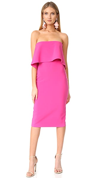 LIKELY Driggs Dress - Cerise