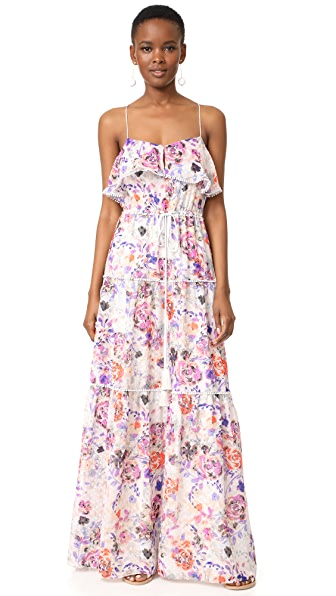 LIKELY Rose Dream Maxi Dress - Pink Multi