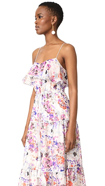 LIKELY Rose Dream Maxi Dress