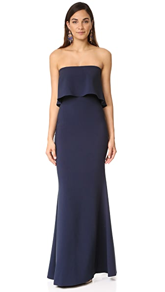 LIKELY Driggs Gown - Navy