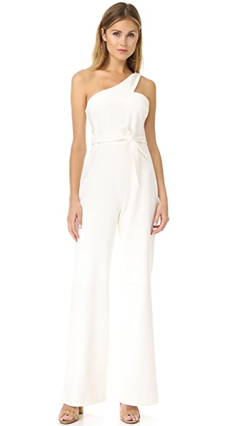 LIKELY Kelsey Jumpsuit - White