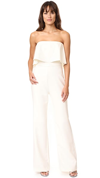 LIKELY Driggs Jumpsuit - White