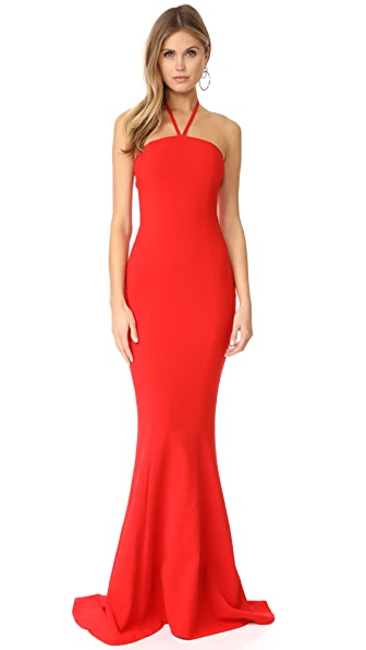 LIKELY Viseroy Dress In Scarlet