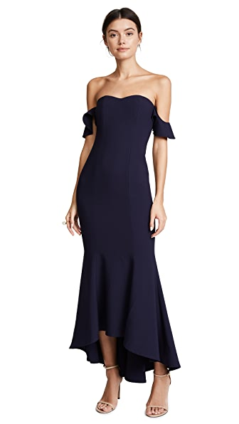 LIKELY Sunset Gown In Navy