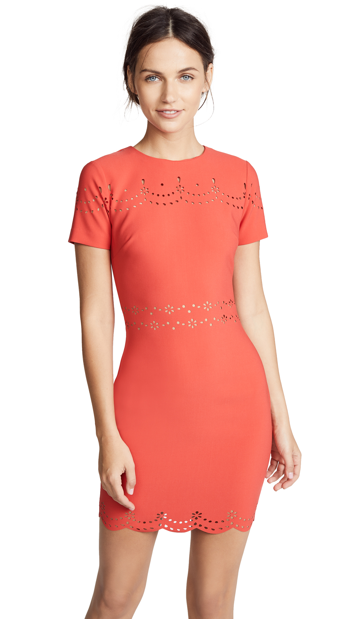 EYELET MANHATTAN DRESS