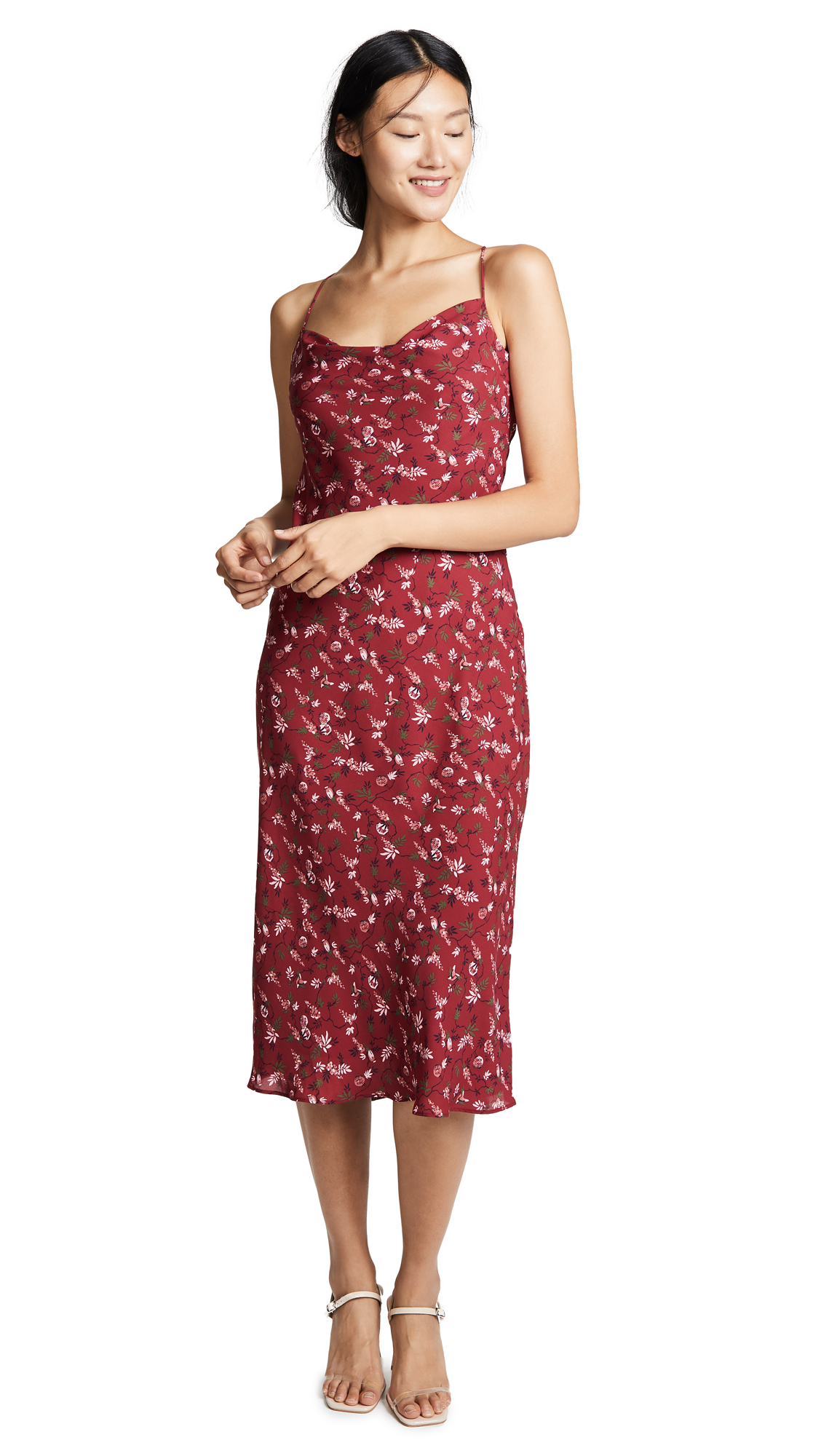 LIKELY Honor Dress In Rumba Red Multi
