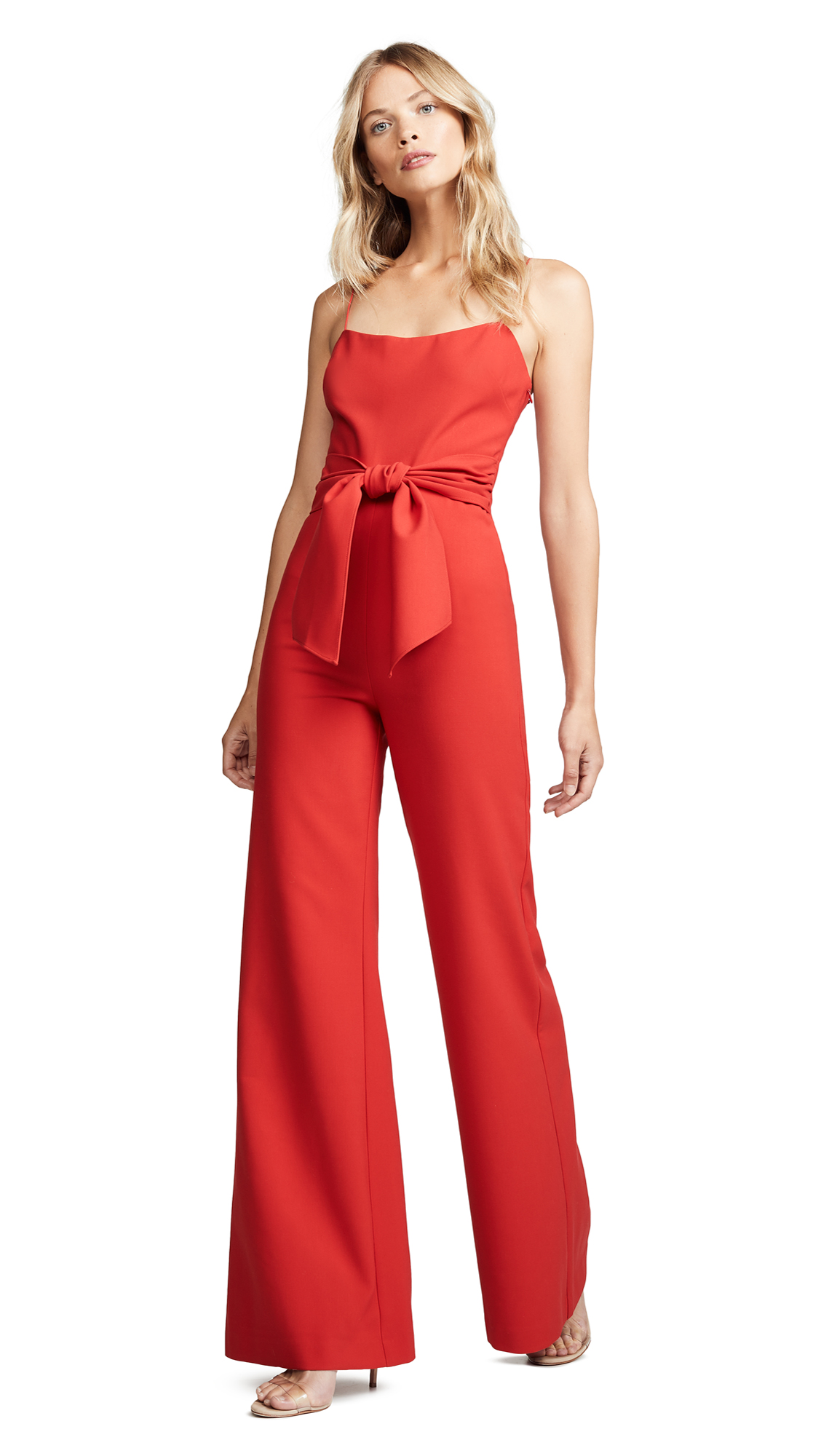 LIKELY Genevieve Jumpsuit In Scarlet