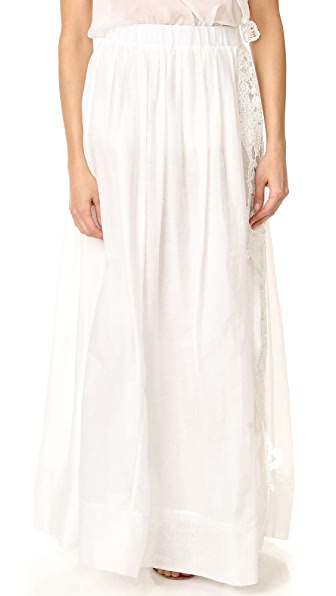 LILA. EUGENIE Side Slit Skirt