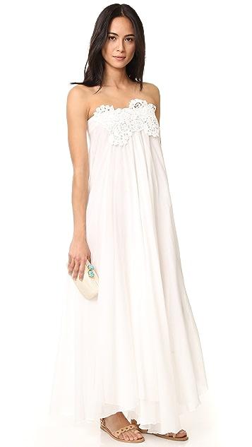 LILA.EUGENIE Maxi Sun Wrap Dress