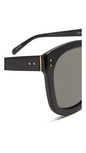 Linda Farrow Luxe Square Sunglasses