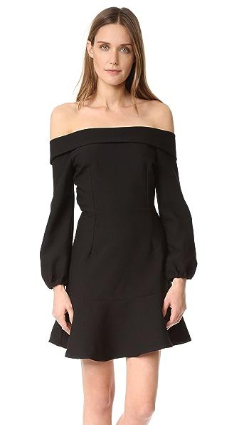 Line & Dot Платье Freya с открытыми плечами